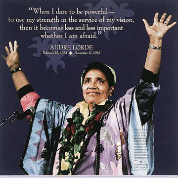 Image result for audre lorde quotes when i dare to be powerful